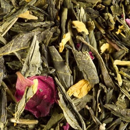 Thé des deux Chinois 100g - Thé vert Parfumé