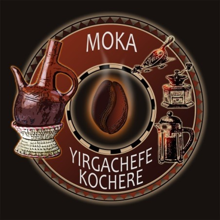Moka Yirgacheffe - Café d'Afrique