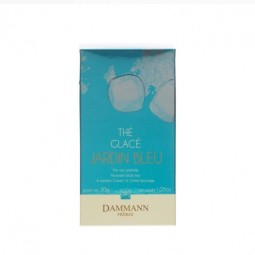 Jardin Bleu - Boite 6 sachets cristal Thé noir glacé Dammann