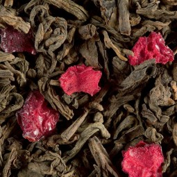 Pu Erh Fruits Rouges 100g - Thé sombre Dammann