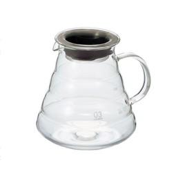 Carafe en verre 800ml + couvercle pour V60 Hario