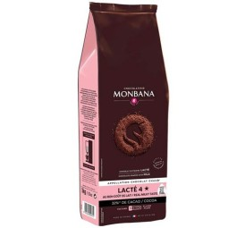 Lacté 4 étoiles - 32% de cacao 1 Kg - chocolat en poudre lacté Monbana