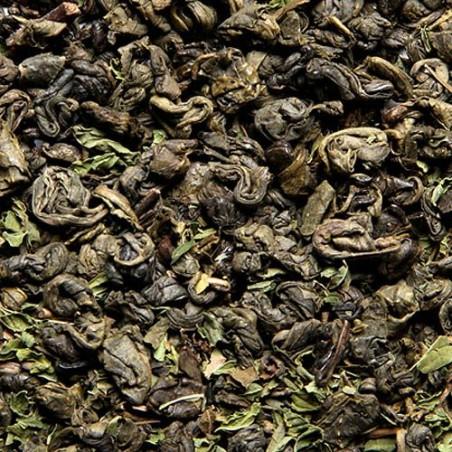 Thé Vert Menthe 100g - Thé Vert Parfumé