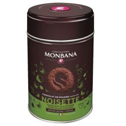 Noisette - Chocolat en poudre arômatisé 250g Monbana
