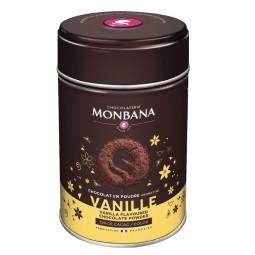 Vanille - Chocolat en poudre arômatisé 250g Monbana