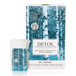 Détox Scandinave Bio - Boite 20 sachet mousseline Palais des Thés