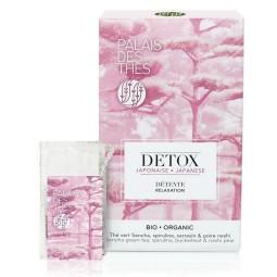 Détox Japonaise Bio - Boite 20 sachet mousseline Palais des Thés
