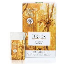 Détox Indienne Bio - Boite 20 sachets mousseline de thé Palais des thés