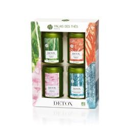 Coffret Détox - Coffret 4 boites de mélange vrac Palais des Thés