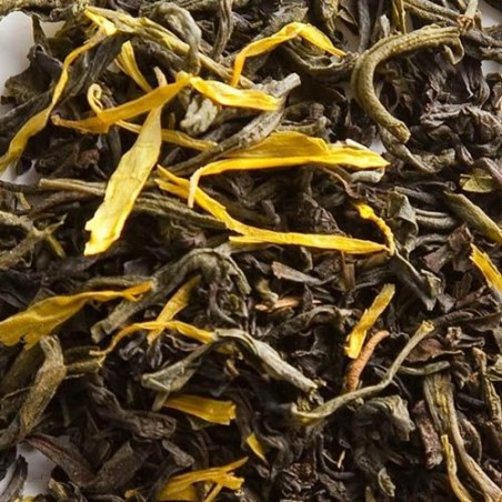 Thé des Moines - Thé noir et vert vrac parfumé Palais des Thés