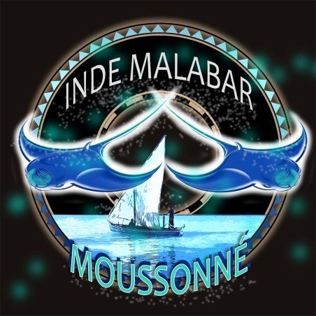Inde Malabar AA Moussonné - Café d Asie - Océanie