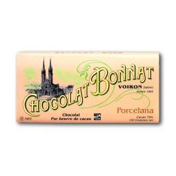 Venezuela Porcelana 75% - Tablette de chocolat noir 100g Bonnat