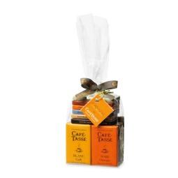 """Sachet 20 mini tablettes de chocolat """"Café-Tasse"""""""