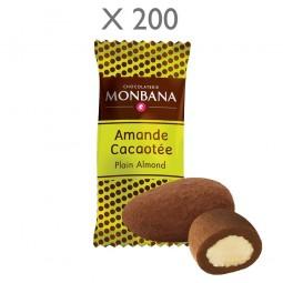 Amandes cacaotées MONBANA x 200