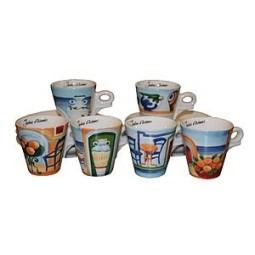Coffret 6 tasses espresso EGEO