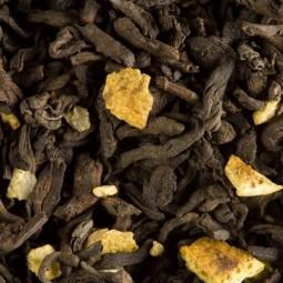 Pu Erh Agrumes 100g - Thé sombre Parfumé