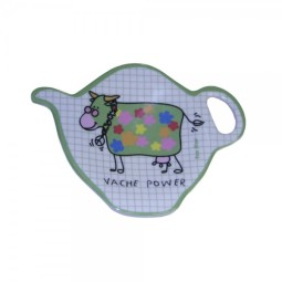 VACHE POWER - Repose sachet de thé FOX TROT